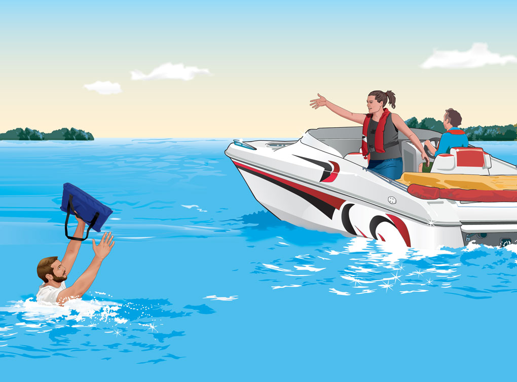 What To Do If You Capsize, Swamp, or Fall Overboard